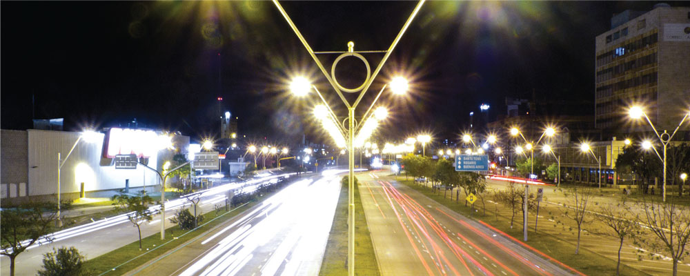 Otoyol-cadde aydınlatması